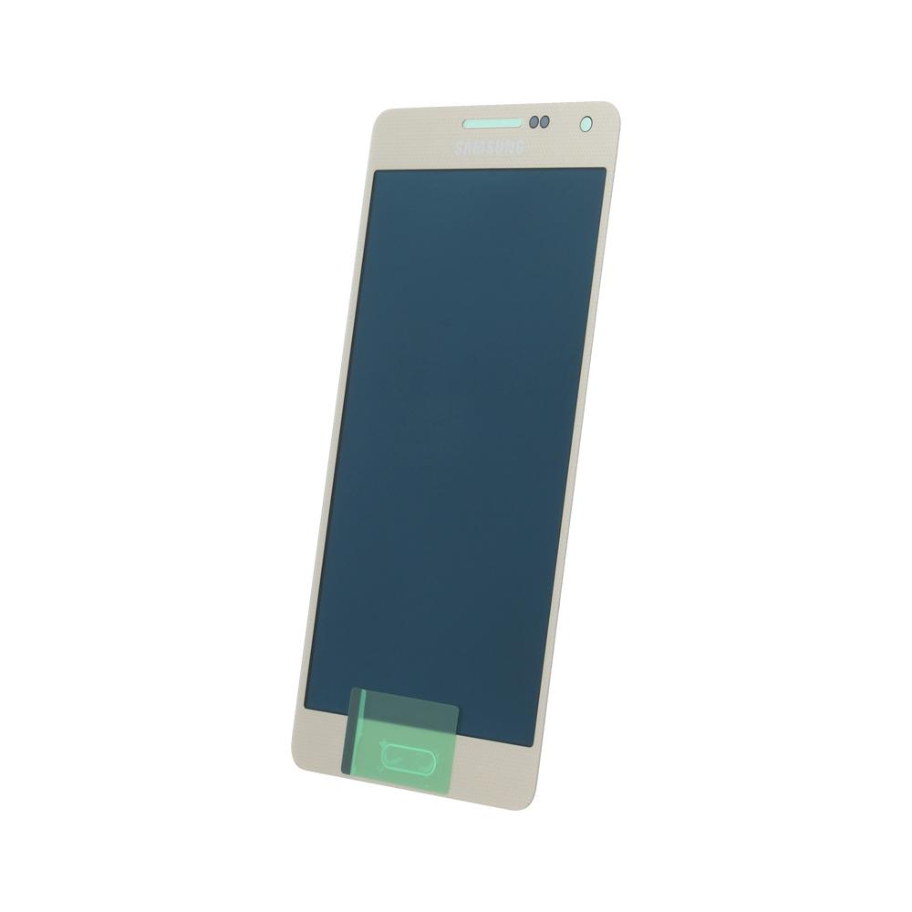 Samsung A5 SM-A500f eredeti LCD kijelző, arany GH97-16679F