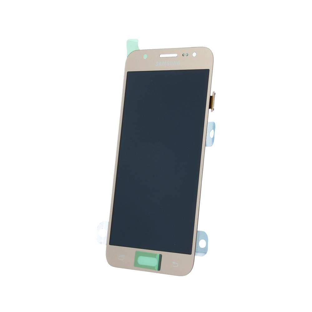 Samsung J5 SM-J500f eredeti LCD kijelző, arany GH97-17667C