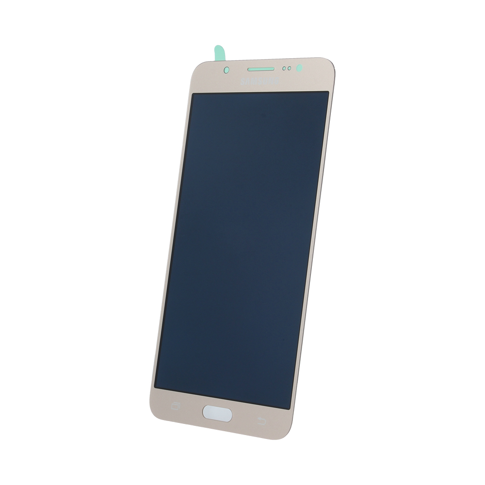 Samsung J7 2016 J710 SM-J710f eredeti LCD kijelző, arany GH97-18855A