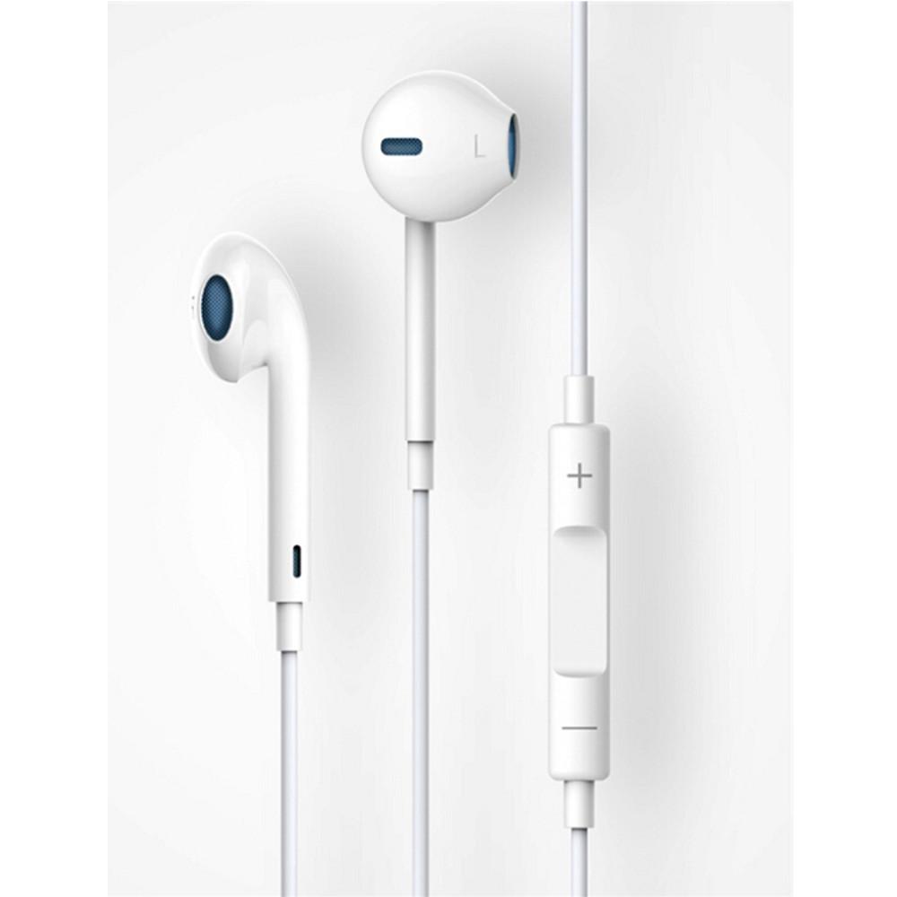 DEVIA Smart fülhallgató távirányítóval és mikrofonnal, fehér