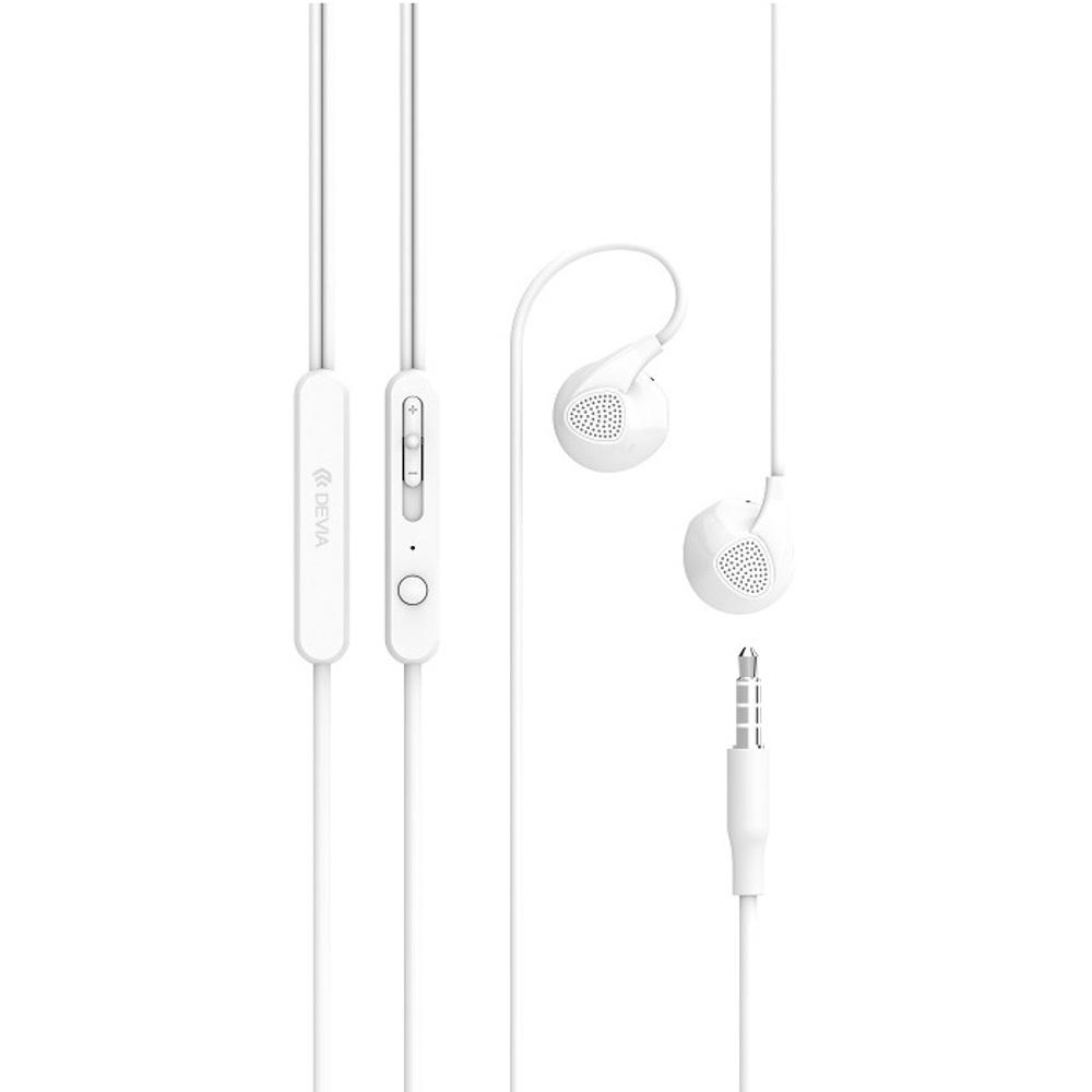 DEVIA D2 Ripple fülhallgató, fehér