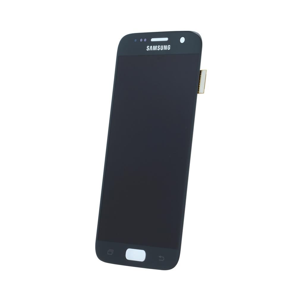 Samsung S7 G930 SM-G930f eredeti LCD kijelző, fekete GH97-18523A