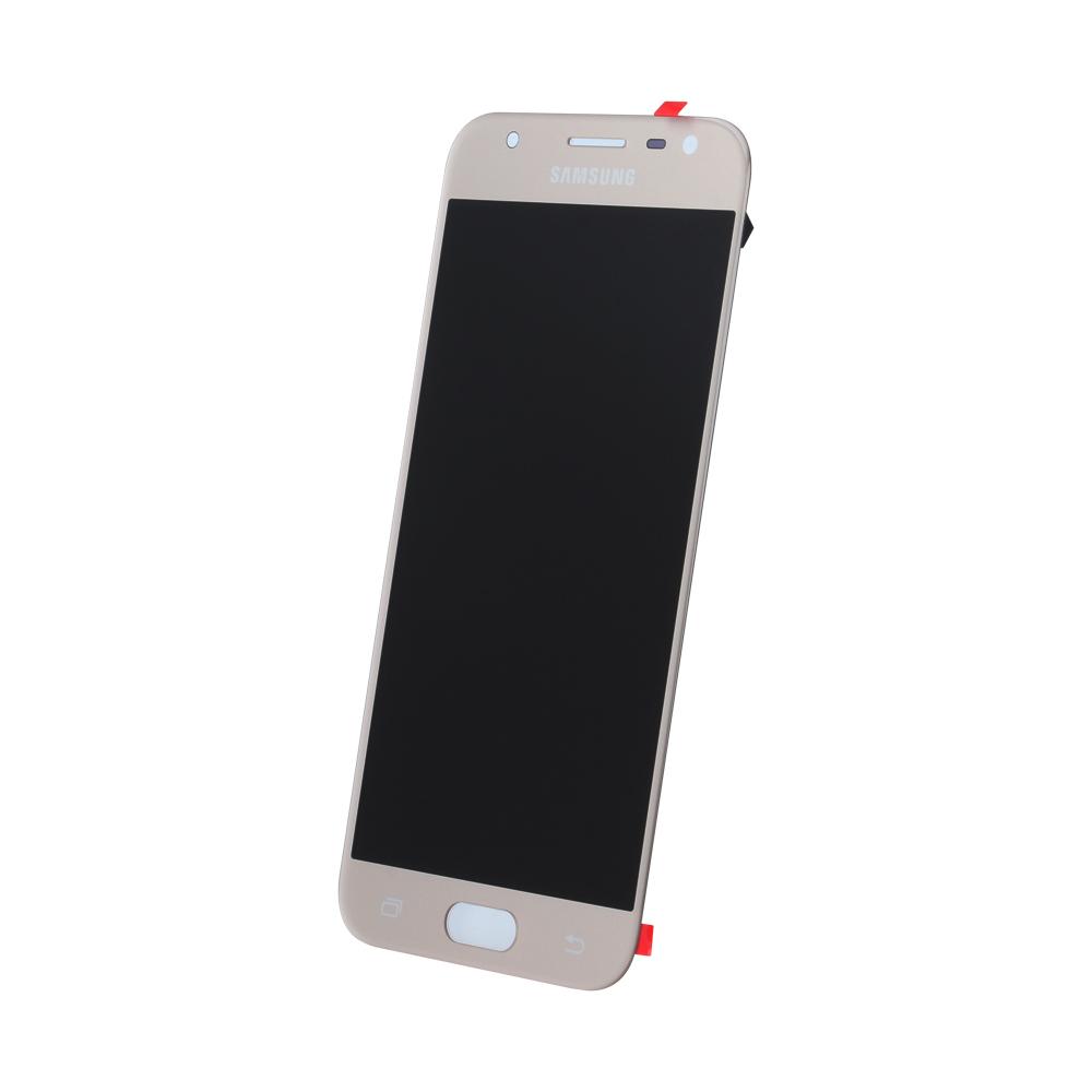 Samsung J3 2017 J330 SM-J330f eredeti LCD kijelző, arany GH96-10990A