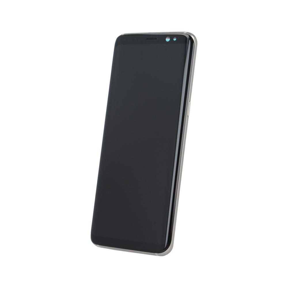 Samsung S8 G950 SM-G950f eredeti LCD kijelző, arany GH97-20473F