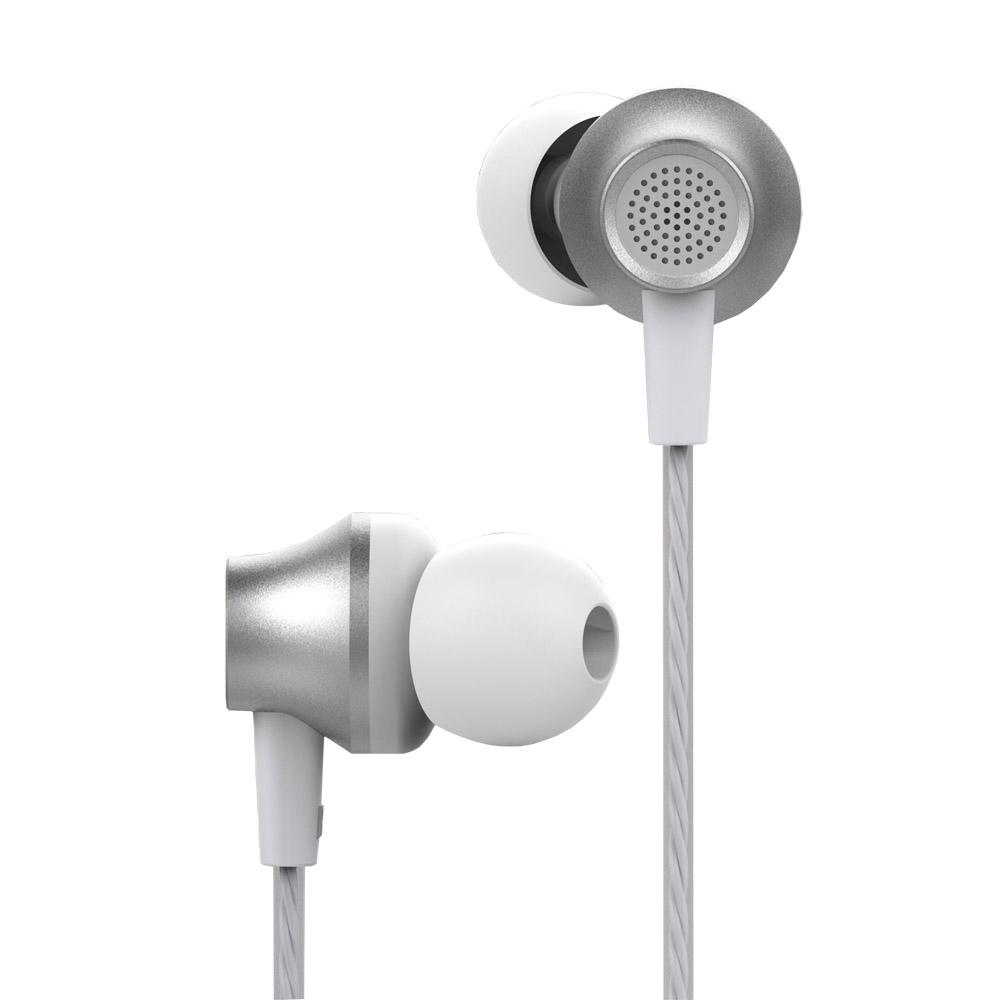 Devia Metal vezetékes fülhallgató, ezüst