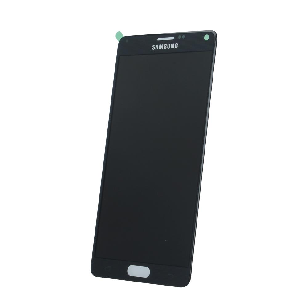 Samsung Note 4 SM-N910f eredeti LCD kijelző, fekete GH97-16565B