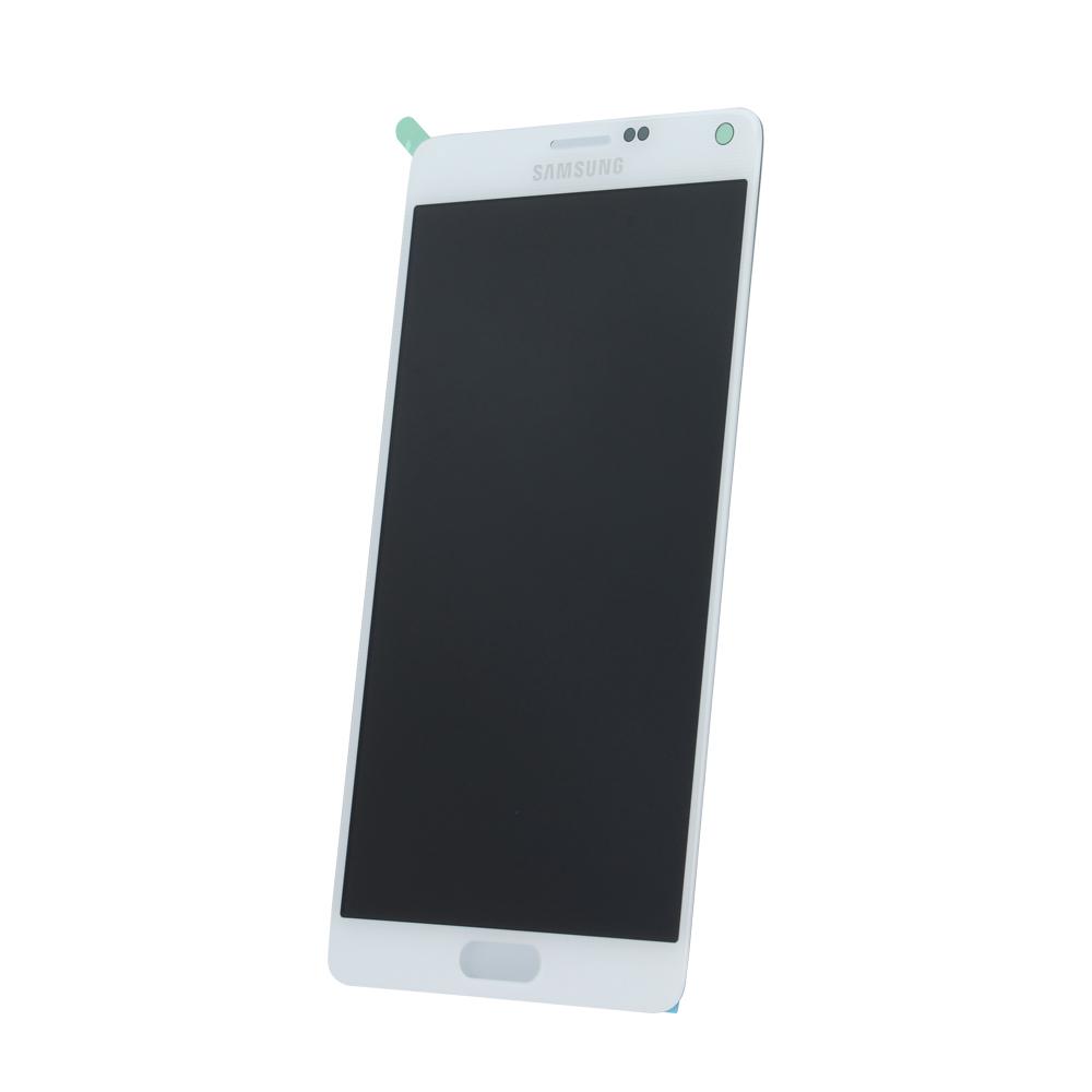 Samsung Note 4 SM-N910f eredeti LCD kijelző, fehér GH97-16565A