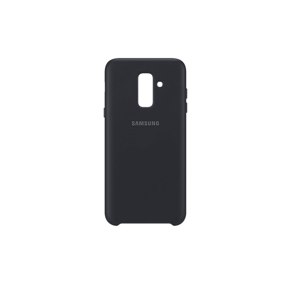 Samsung kétrétegű tok Samsung A6 Plus 2018 telefonhoz fekete