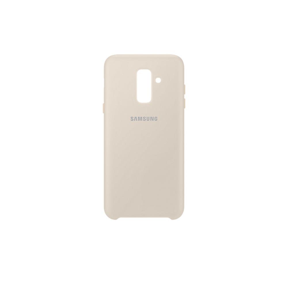 Samsung kétrétegű tok Samsung A6 Plus 2018 telefonhoz arany