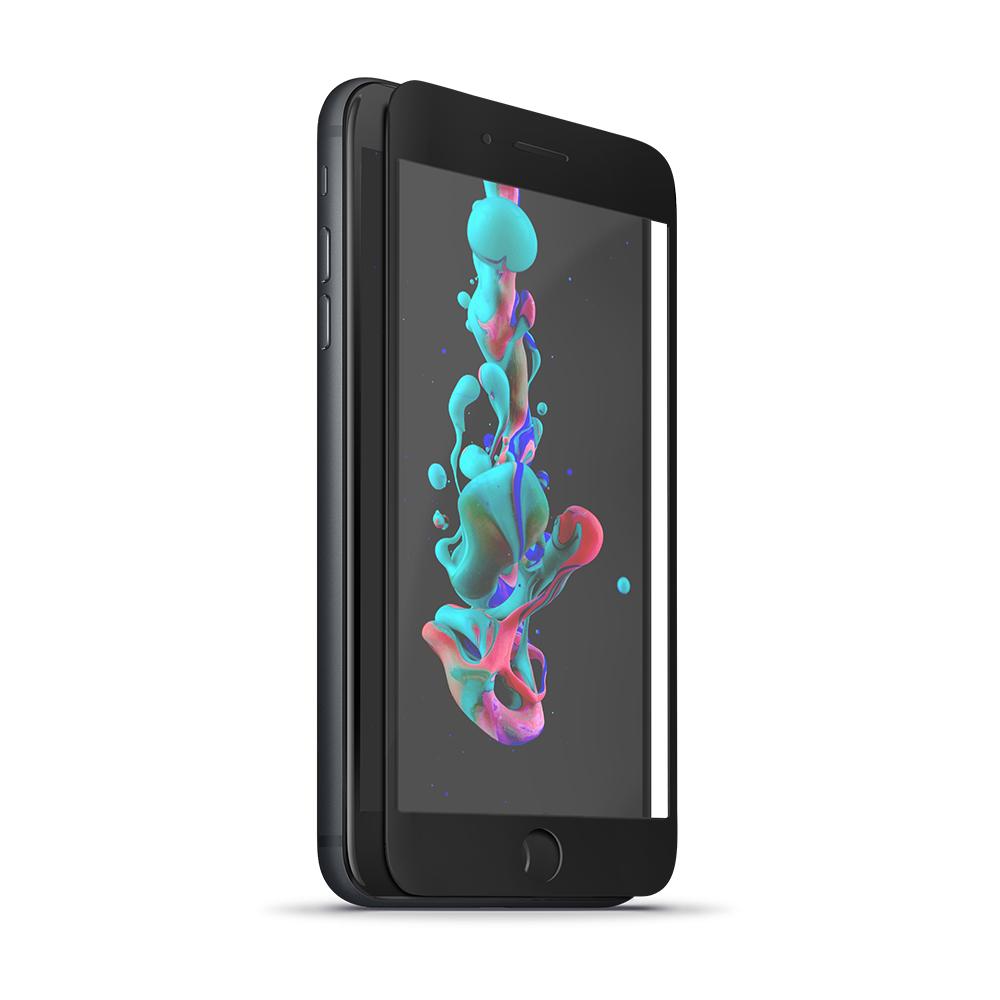 Forever 5D Képernyővédő prémium edzett üveg iPhone 7 Plus / iPhone 8 Plus fekete