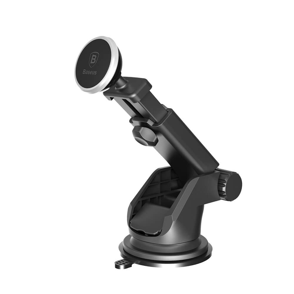 Baseus teleszkópos mágneses autós telefontartó, ezüst (SULX-0S)