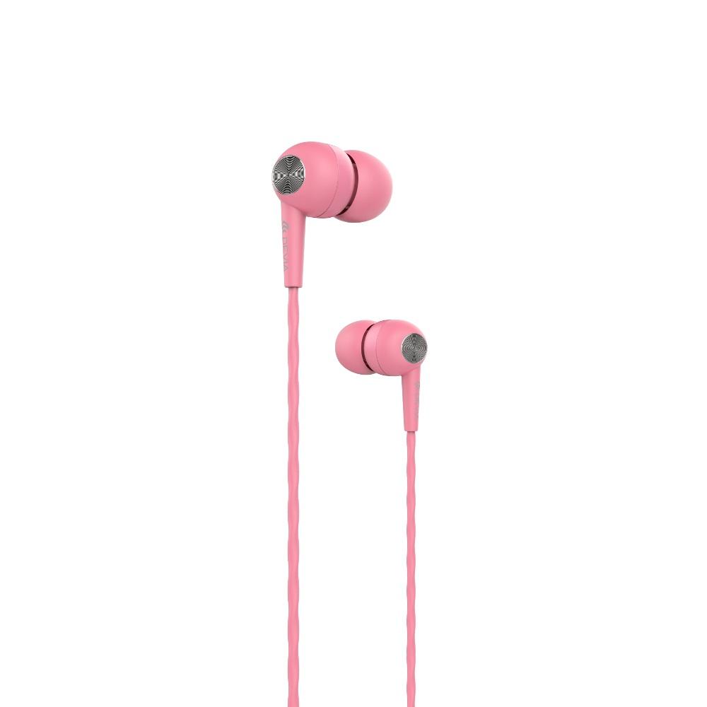 Devia Kintone vezetékes fülhallgató, rózsaszín