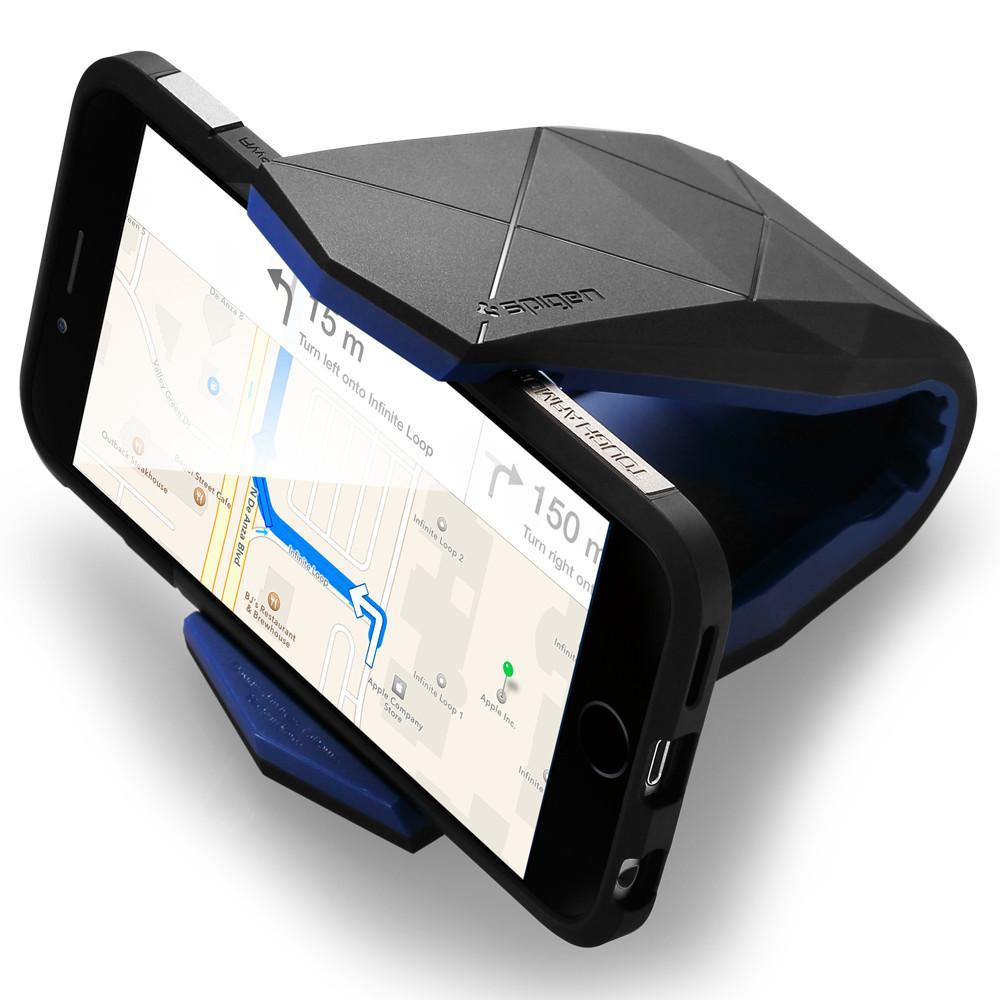 Spigen Stelath univerzális autós telefontartó fekete