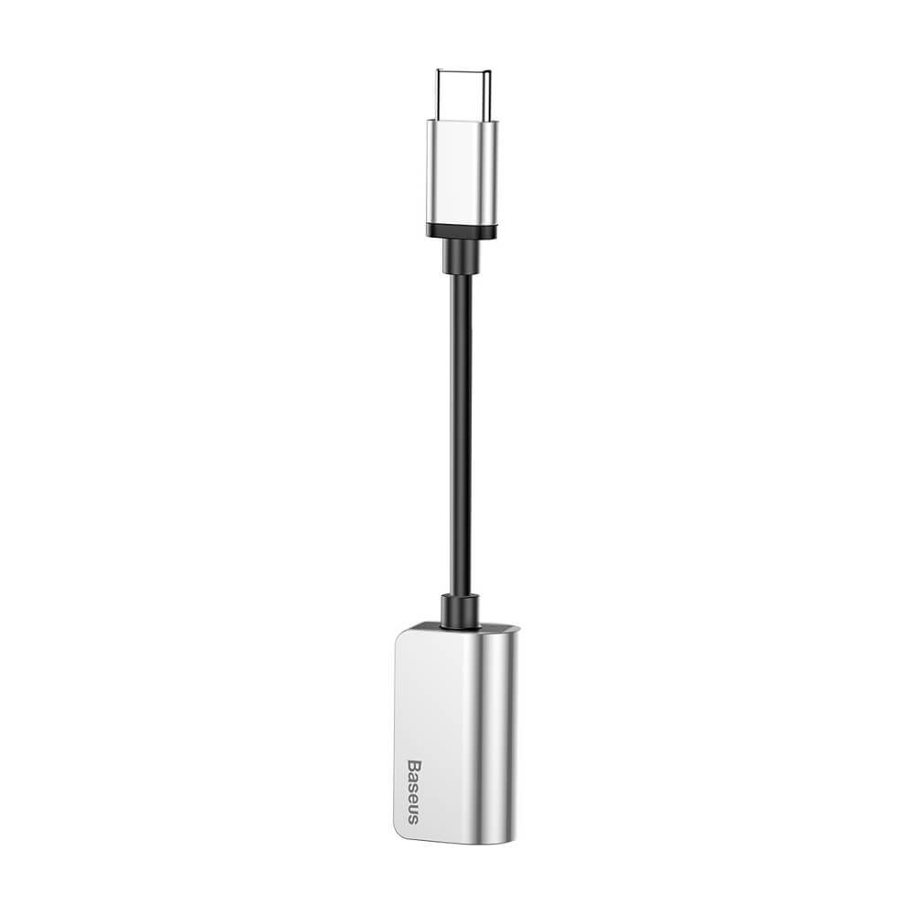 Baseus adapter USB L40 type C  USB type-C / mini-jack (3,5 mm) (CATL40-0S)