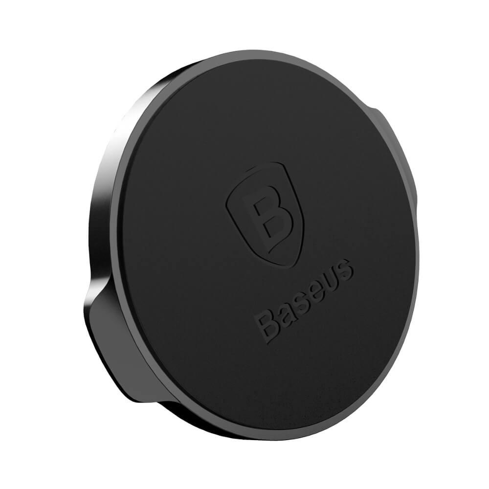 Baseus Small Ears mágneses telefontartó, fekete (SUER-C01)