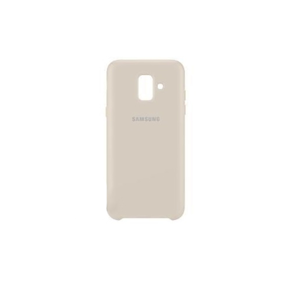 Samsung kétrétegű tok Samsung A6 2018 telefonhoz arany