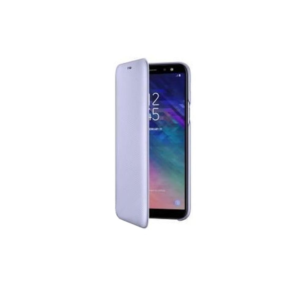 A6 2018 Samsung pénztárca tok lila