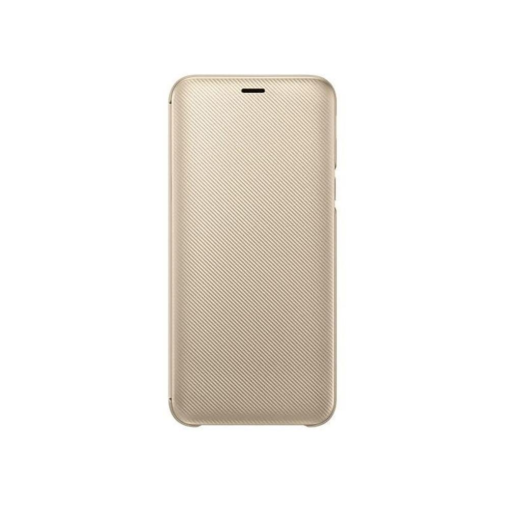 J6 2018 Samsung pénztárca tok arany