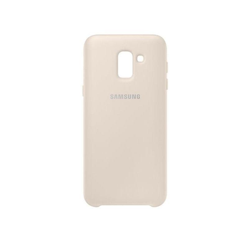 Samsung kétrétegű tok Samsung J6 2018 telefonhoz arany