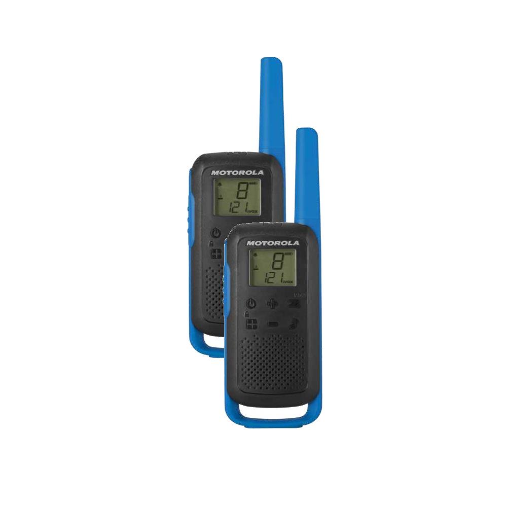 Motorola T62 Talkabout kék szett 2 db + töltő