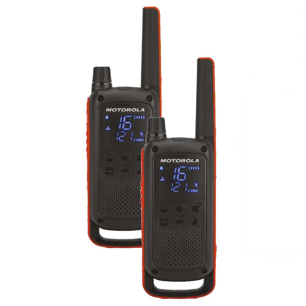 Motorola T82 Talkabout  szett 2db + töltő