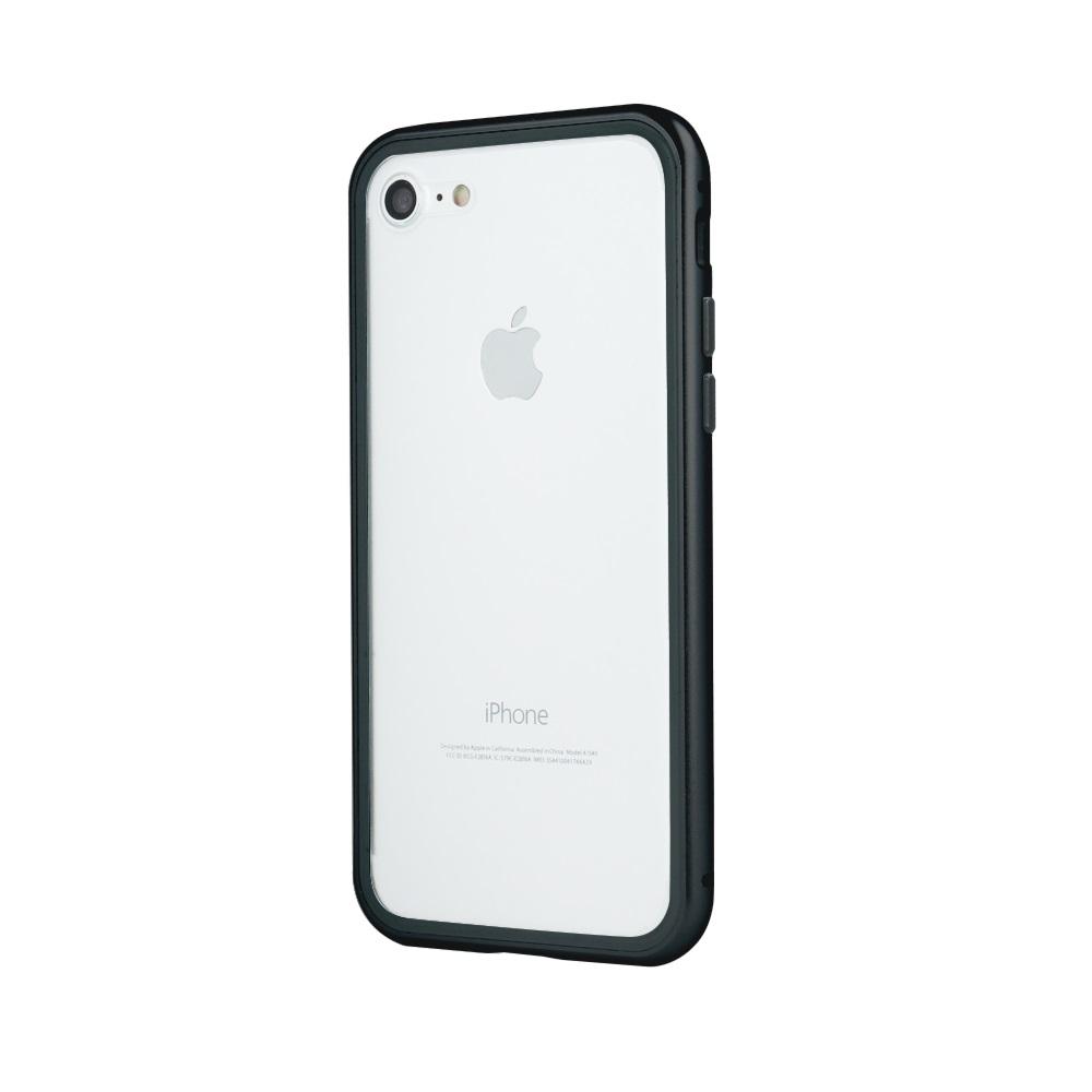 iPhone 6 Plus / iPhone 6s Plus mágneses tok fekete