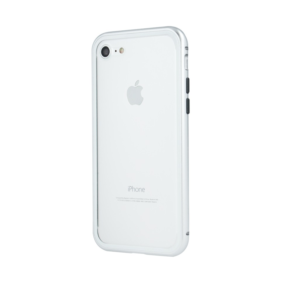 iPhone 6 Plus / iPhone 6s Plus mágneses tok ezüst