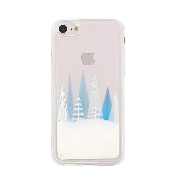 OEM csillámos tok Winter Snow1 Huawei P Smart telefonhoz