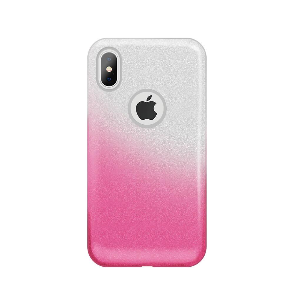 Samsung S10 Plus színátmenetes 3in1 tok rózsaszín