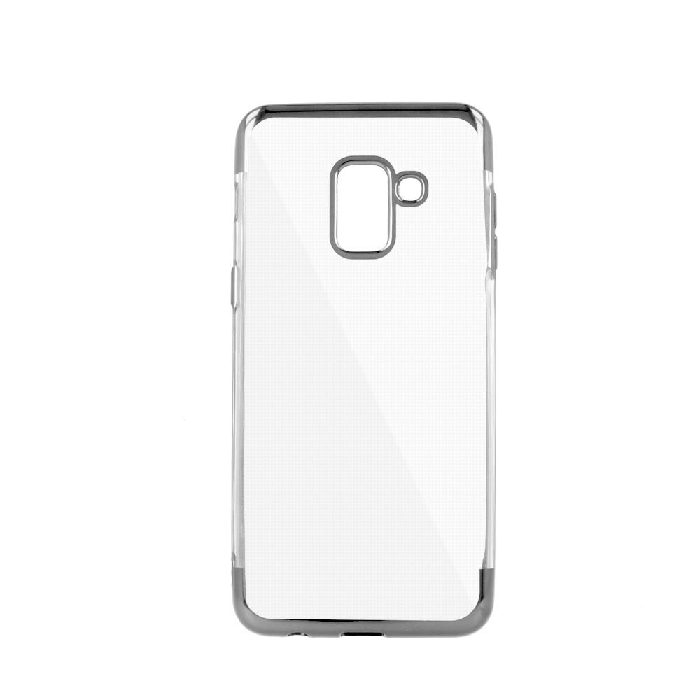 Xiaomi Redmi 6 erősített keretű puha TPU tok szürke