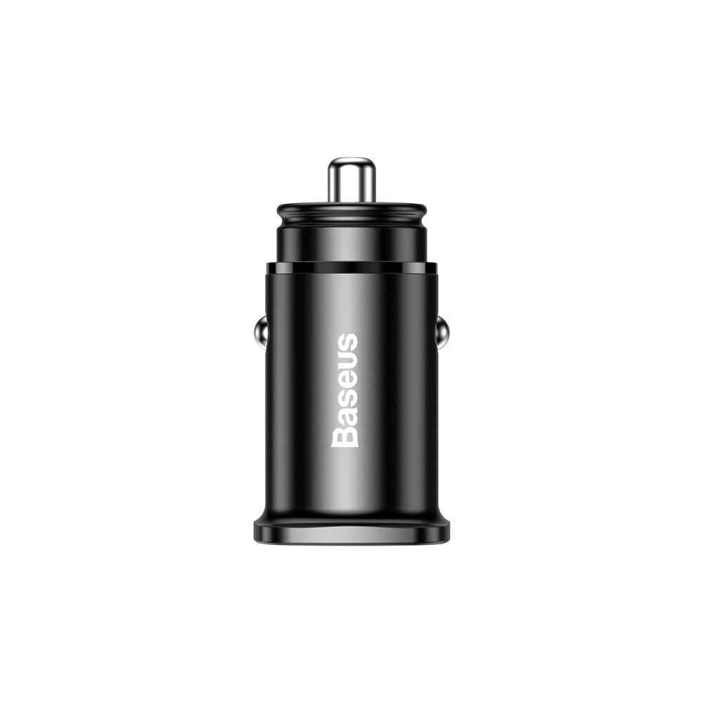 Baseus PPS autós töltő QC 4.0+ USB + PD, fekete