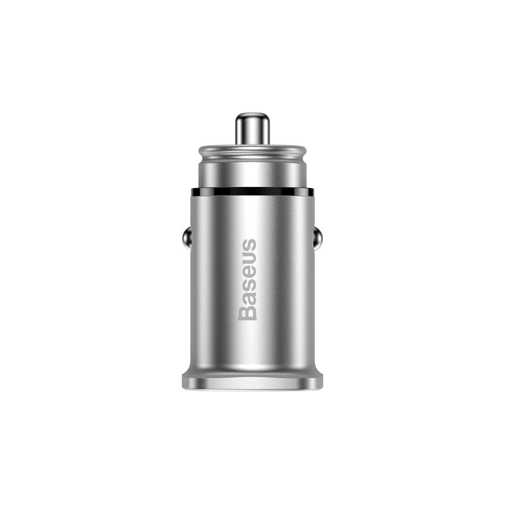Baseus PPS autós töltő QC 4.0+ USB + PD, ezüst