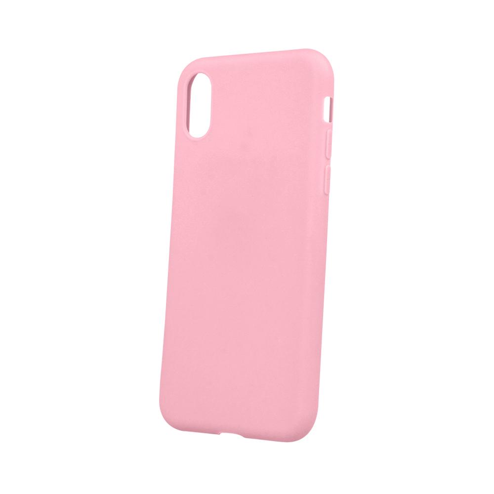 Huawei P30 Lite matt TPU tok, rózsaszín