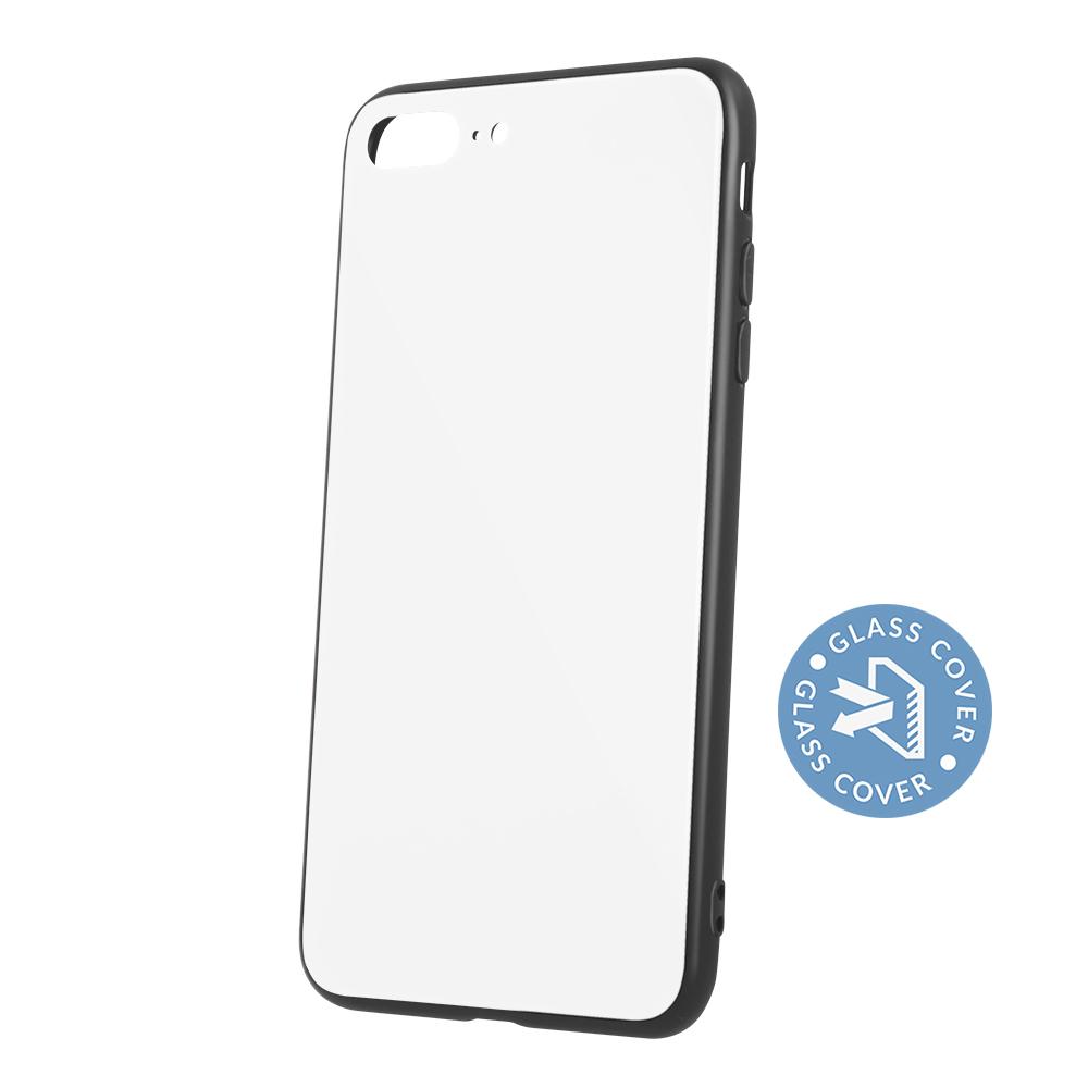 Huawei P20 Lite üveg tok fehér