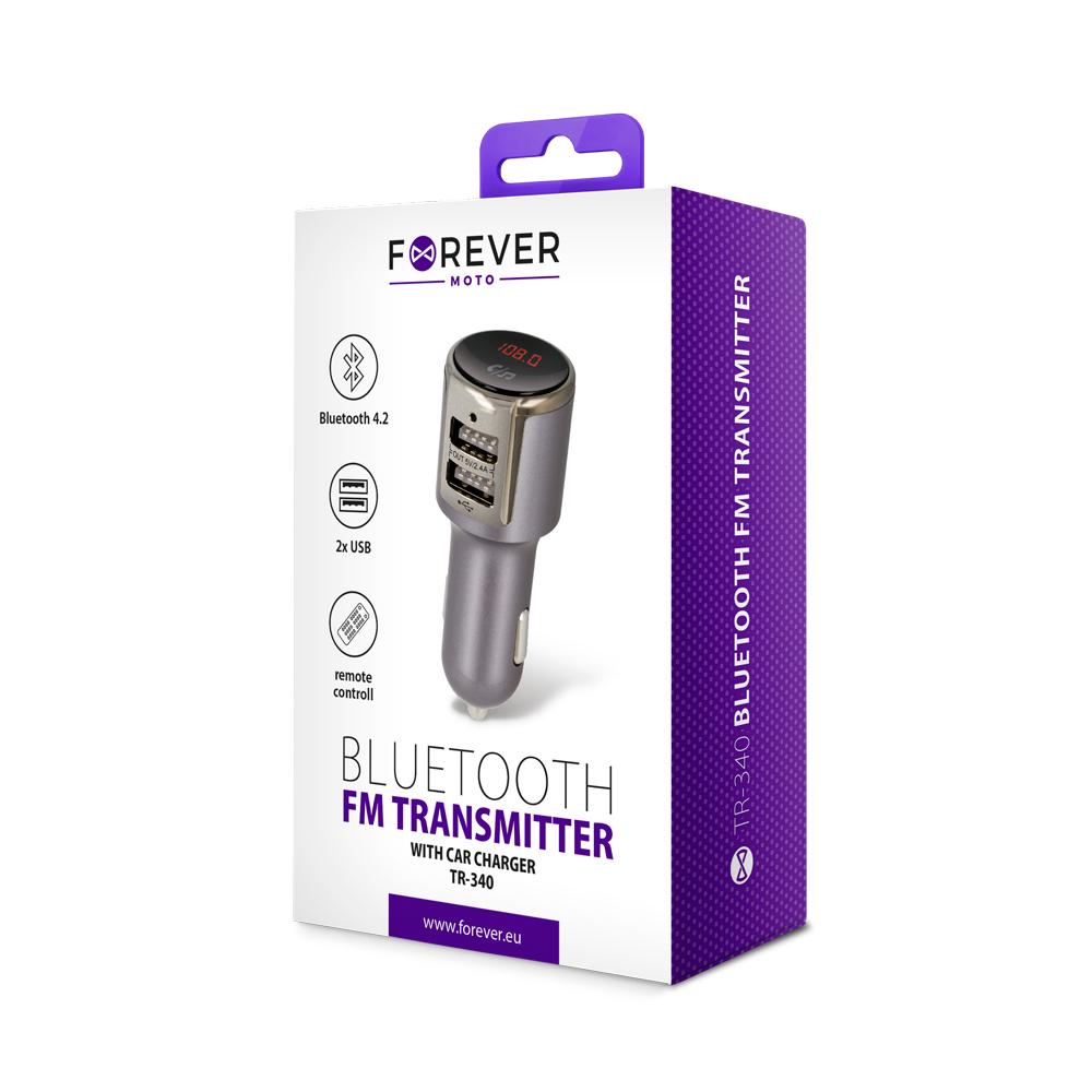 Forever bluetooth FM transmitter TR-340