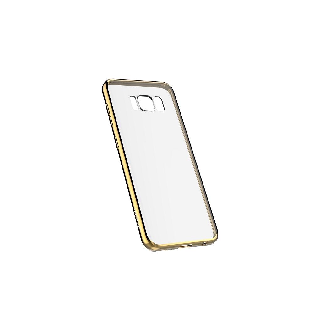 DEVIA Glitter tok Samsung S8 PLUS, pezsgő arany