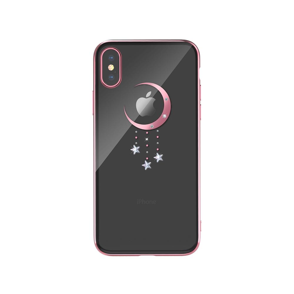 DEVIA Meteor tok iPhone XR, rózsa arany