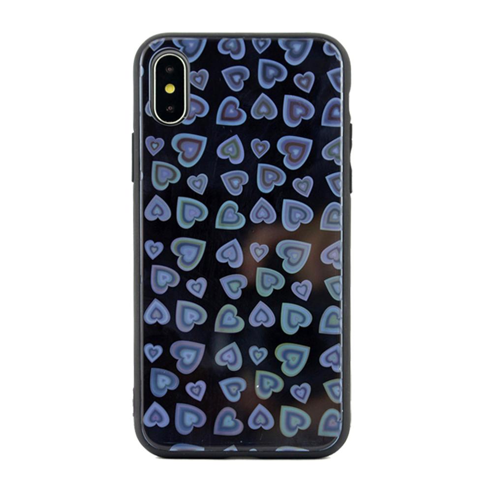 OEM szíves tok iPhone 6 Plus fekete