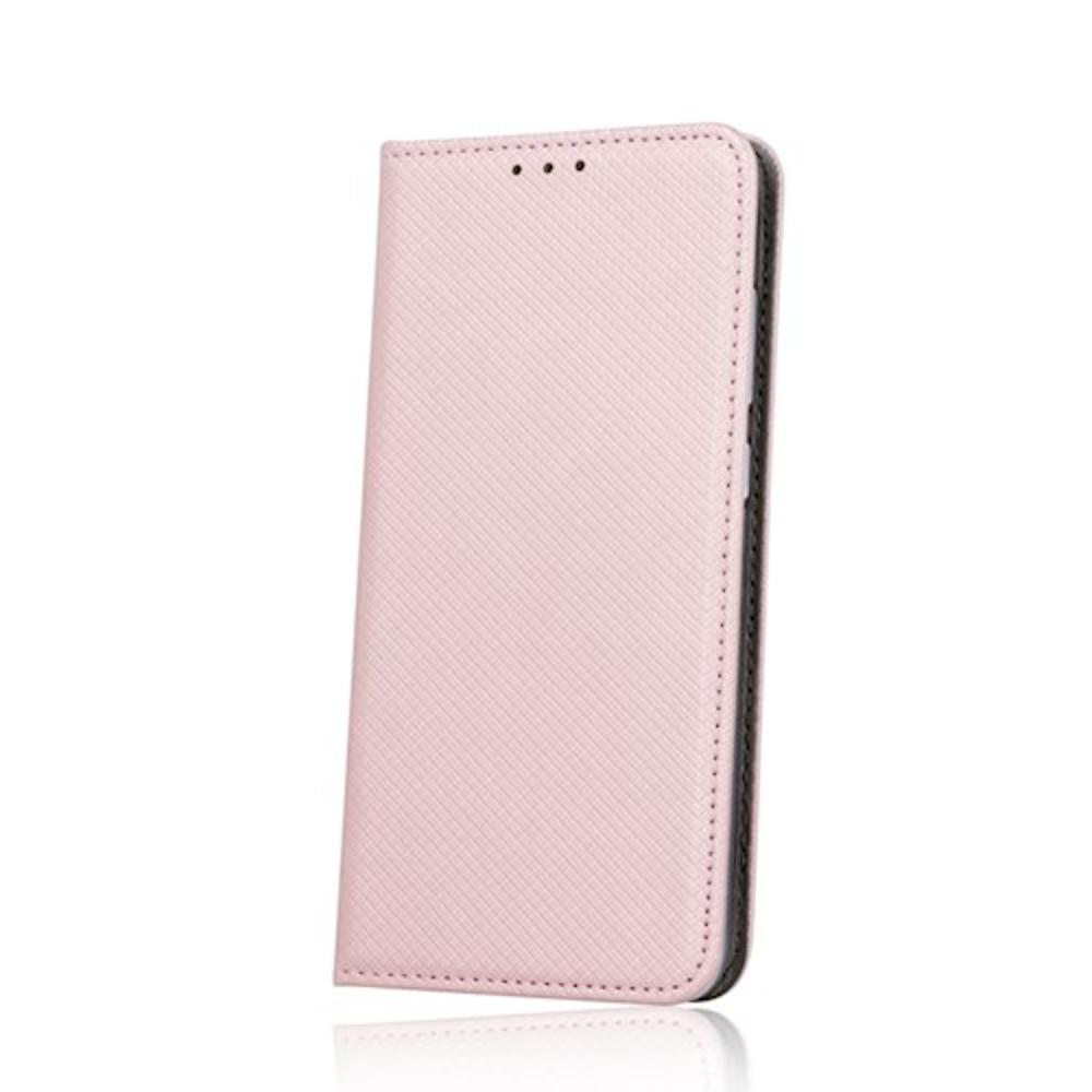 Samsung A70 elegáns mágneses tok rózsaarany