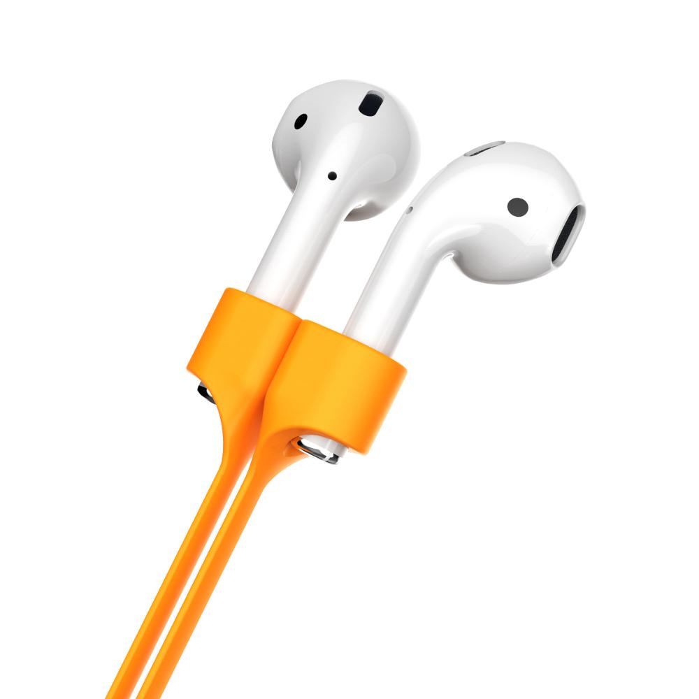 Baseus fülhallgató tartó airpods számára narancssárga