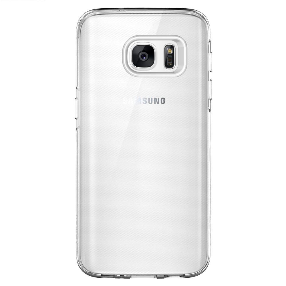 Spigen Liquid Crystal tok Samsung S7 átlátszó