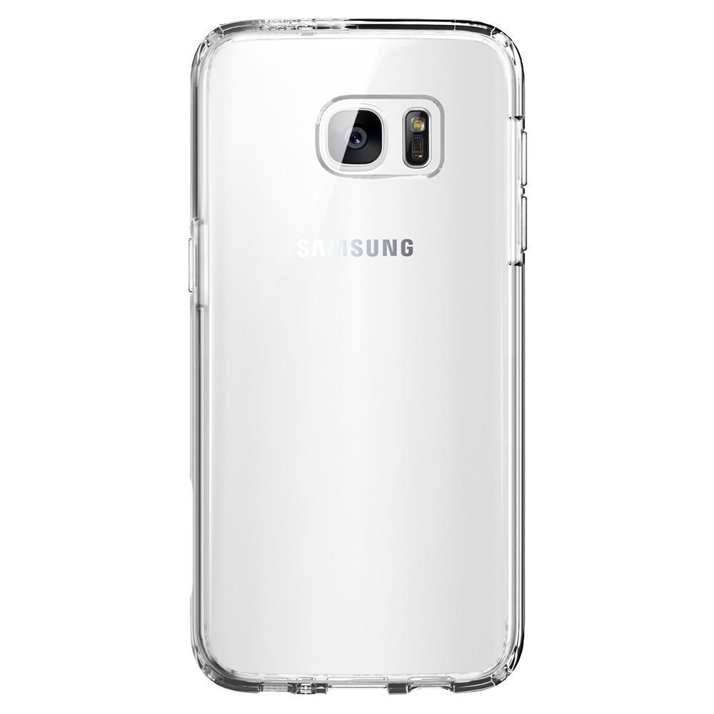 Spigen Ultra Hybrid tok Samsung S7 Edge átlátszó