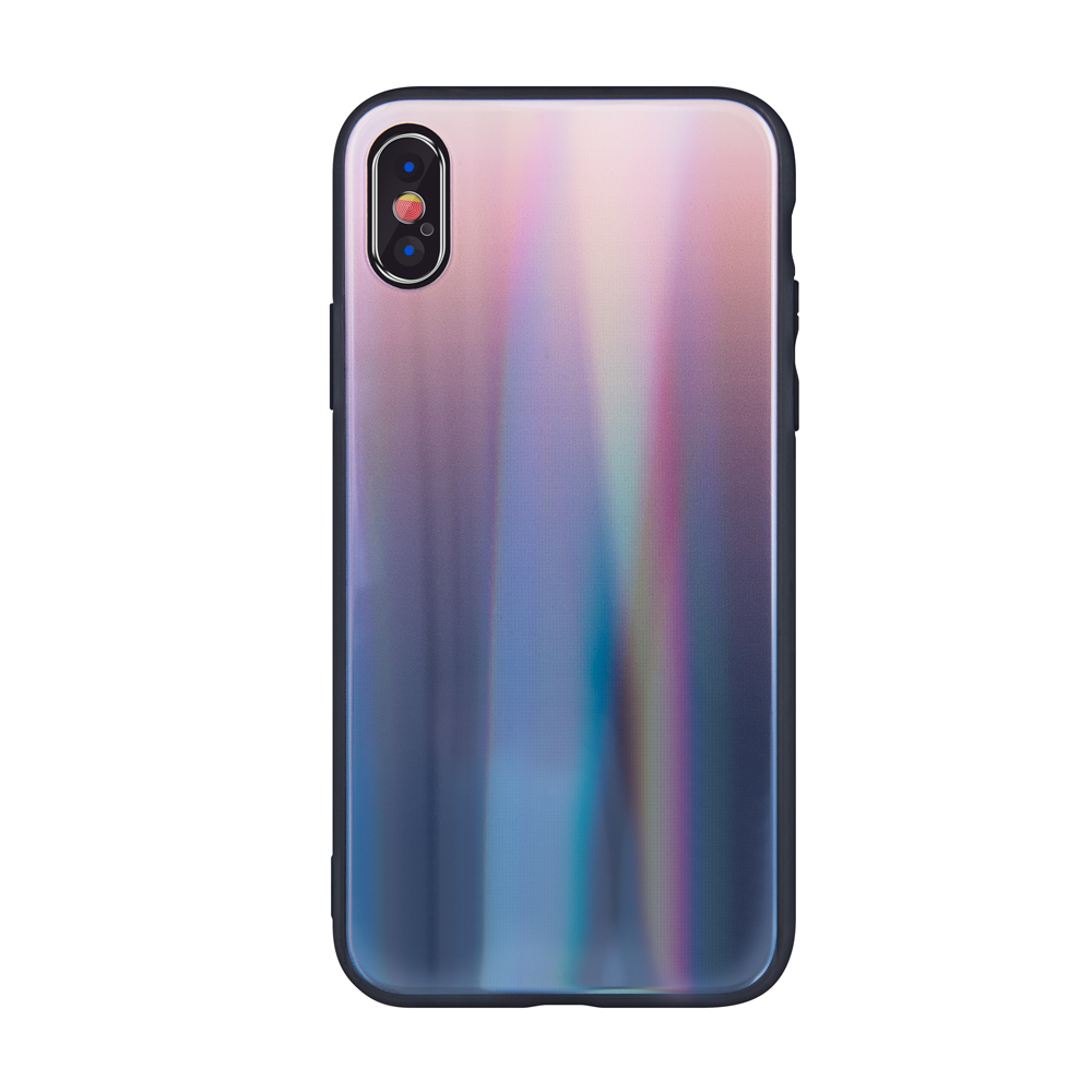Aurora üveg tok Motorola Moto G7 Play barna-fekete
