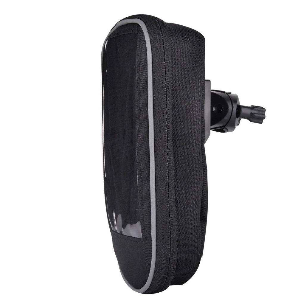 Devia vízálló táska kerékpárra, fekete
