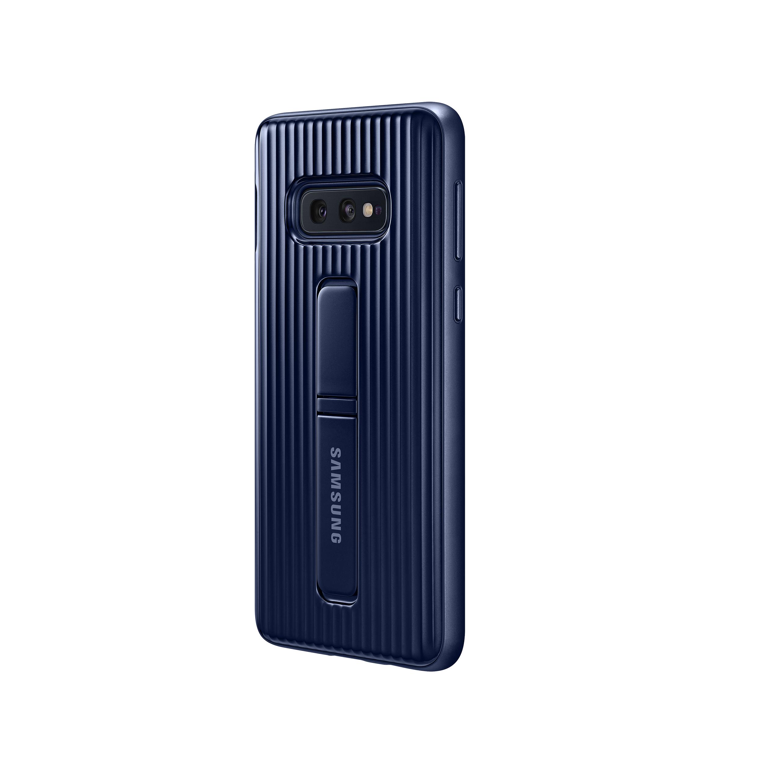 Samsung védő állítható tok S10 kék