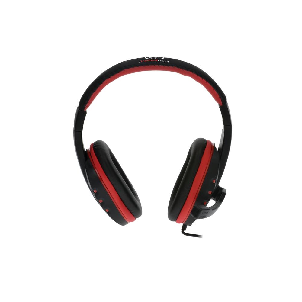 REBELTEC ROHAN fejhallgató mikrofonnal, 2 x mini-jack