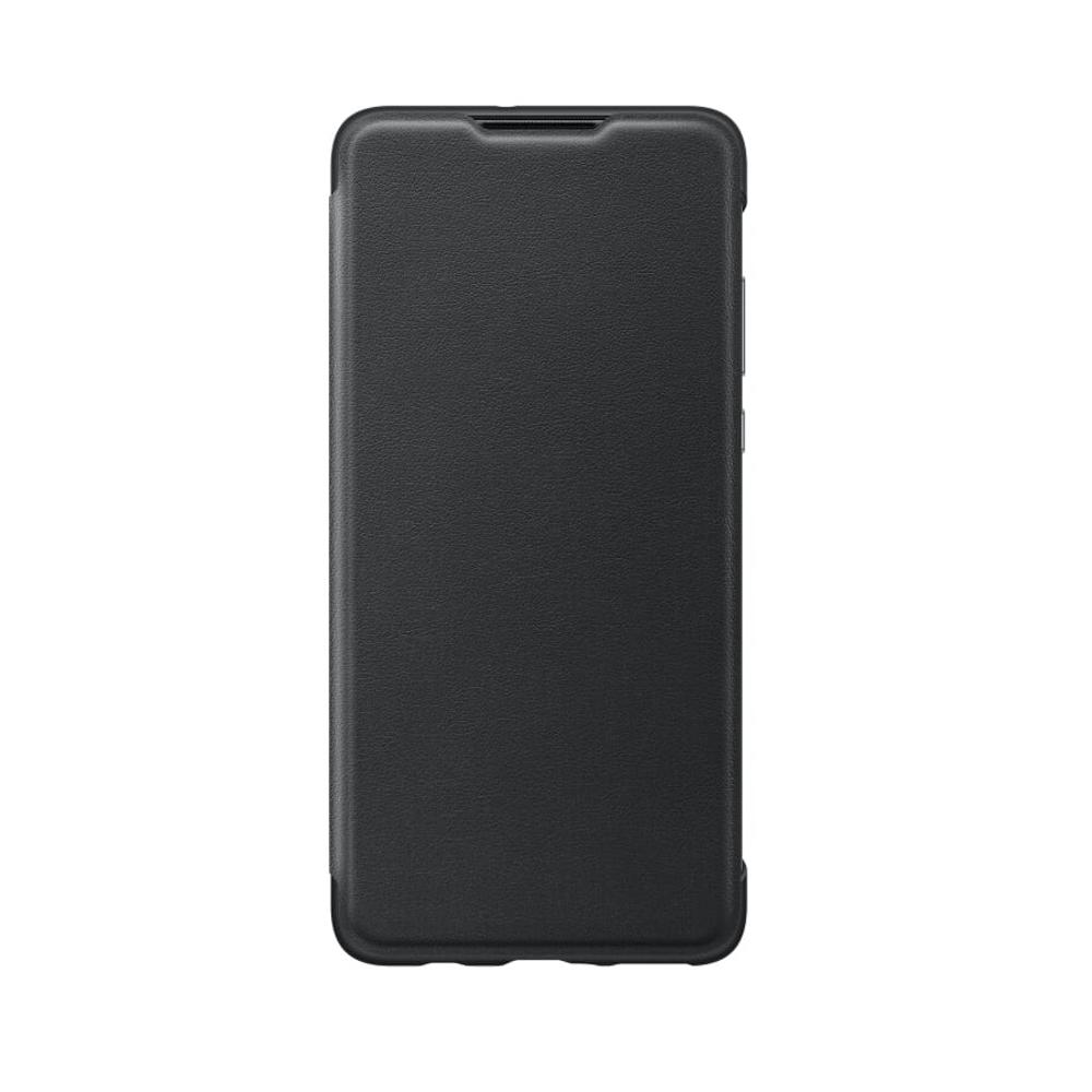 Huawei P30 Wallet case tok intellihens füllel, fekete