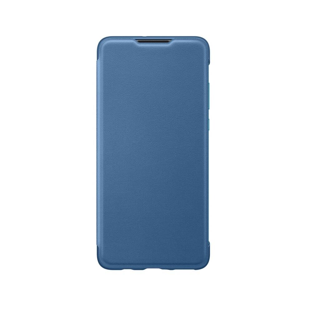 Huawei P30 Lite Wallet tok intelligens füllel, világoskék