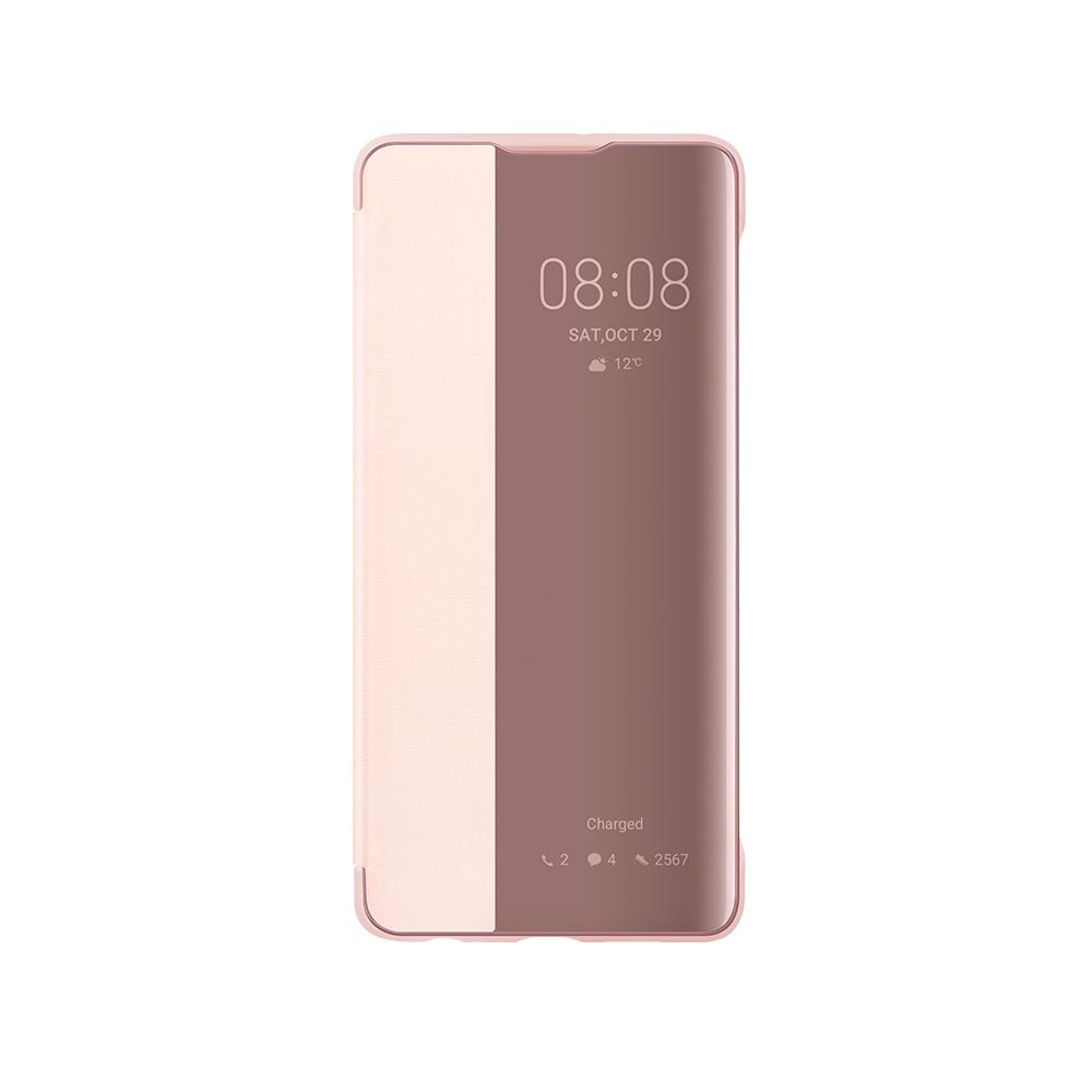 HUAWEI P30 Smart Flip tok, rózsaszín