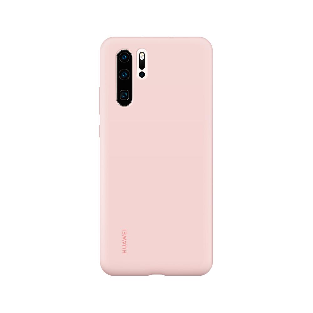 HUAWEI P30 Pro Silicone tok, rózsaszín